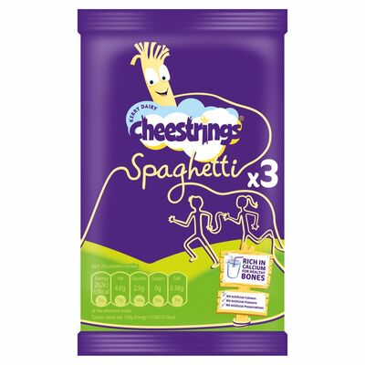 Cheestrings Spaghetti 3 Pack 60g