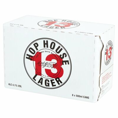 HOP HOUSE 13 CAN PACK 8 X 500ML