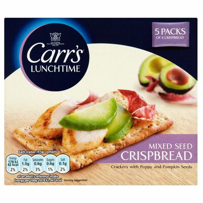 Carr's Lunchtime Crispbreads Mixed Seed 190g