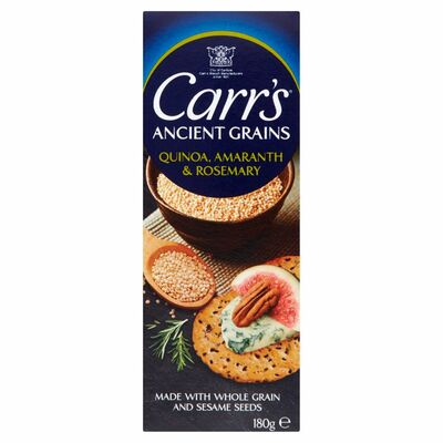 Carr's Ancient Grains Quinoa Buckwheat & Rosemary 180g