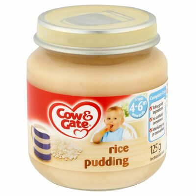 Cow & Gate Baby Balance Rice Pudding 125g
