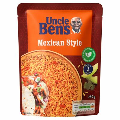 Uncle Ben's Express Rice Mexican Style 250g
