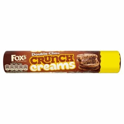 Fox's Double Chocolate Crunch Creams 230g