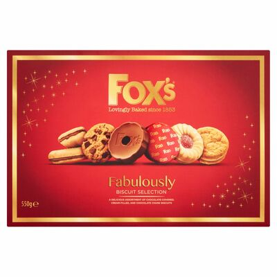 FOX'S FABULOUSLY ASSORTED CARTON 550G