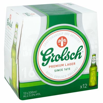 Grolsch Bottle Pack 12x330ml
