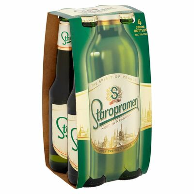 Staropramen Can Pack 4 x 330ml