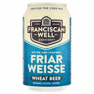 Franciscan Well Friar Weisse Can 330ml