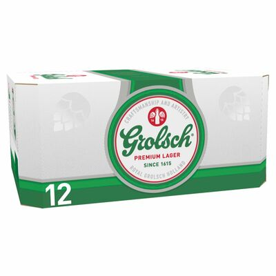 Grolsch Can Pack 12 x 330ml