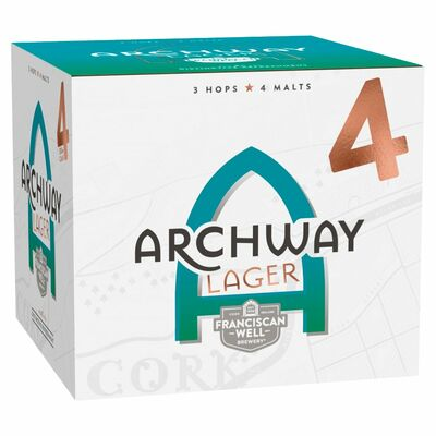 Franciscan Well Archway Lager Can Pack 4 x 330ml