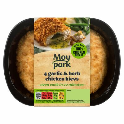 MOY PARK GARLIC AND HERB KIEV 4 PACK 520G