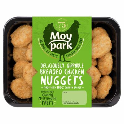 MOY PARK BREADED CHICKEN NUGGETS 425G
