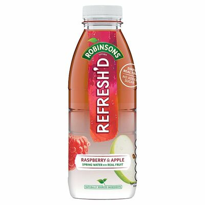 Robinsons Refreshed Raspberry & Apple 500ml