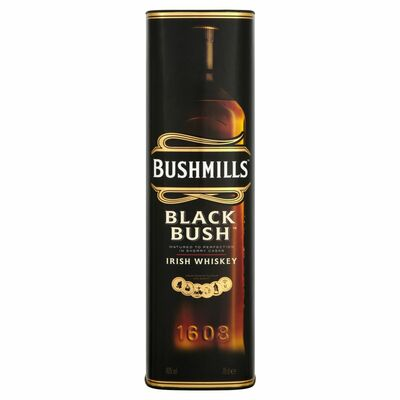 BLACK BUSH GIFT TUBE 70CL