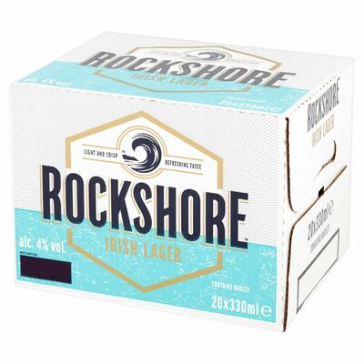 Rockshore Lager Bottle Pack 20 x 330ml
