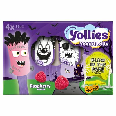 Yollies Raspberry 4 Pack 100g