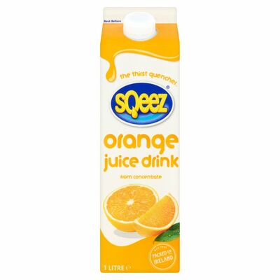 Sqeez Orange Juice Drink 1ltr