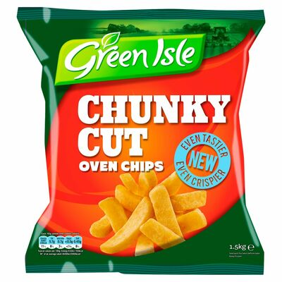 Green Isle Chunky Oven Chips 1.5kg