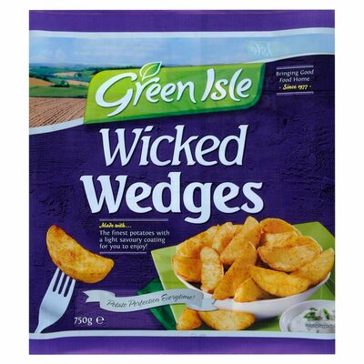 Green Isle Wicked Wedges 750g