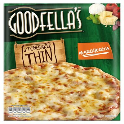 Goodfella's Stonebaked Thin Margherita 345g