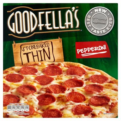 Goodfella's Stonebaked Thin Pepperoni 340g