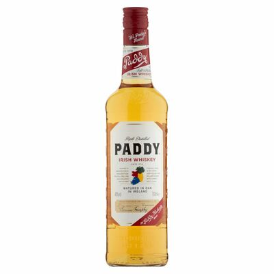 PADDY IRISH WHISKEY SBC 70CL