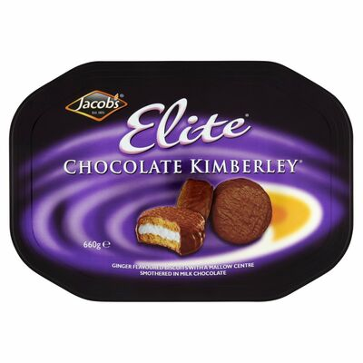 JACOB'S ELITE MILK CHOCOLATE KIMBERLEY 660G