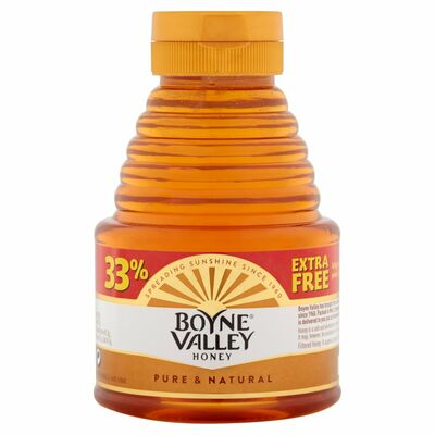 Boyne Valley Squeezy Honey +33% Extra Free 454g