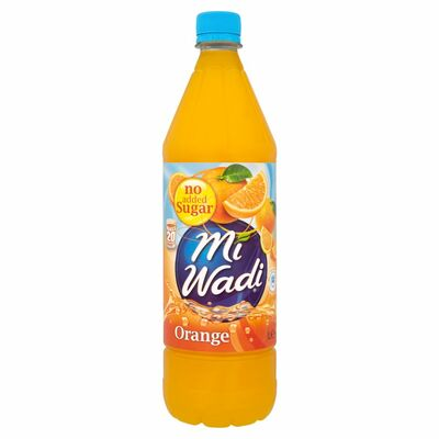 MiWadi Orange No Added Sugar 1ltr
