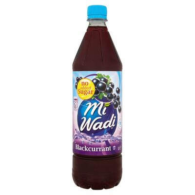 MiWadi Blackcurrant No Added Sugar 1ltr