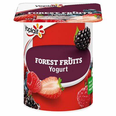 Yoplait Yogurt Fruit Of The Forrest 125g