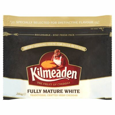 Kilmeaden Fully Mature White Cheese 200g