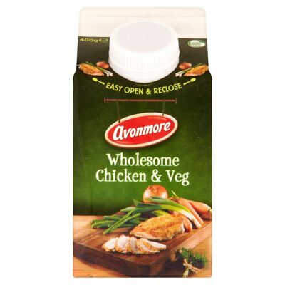 Avonmore Fresh Wholesome Chicken & Vegetable Soup 400g