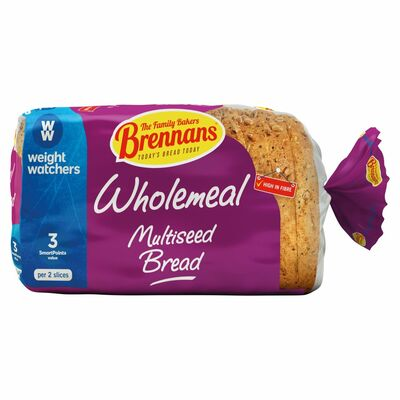 Brennans Weight Watchers Multiseed Wholemeal 350g