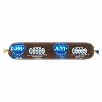 Denny Pudding Chubb Black 199g
