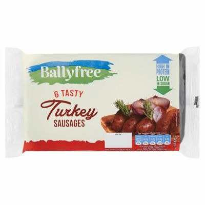 Ballyfree Turkey Sausages 240g