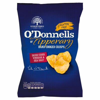 O'Donnells of Tipperary Salt & Vinegar Crisps 125g