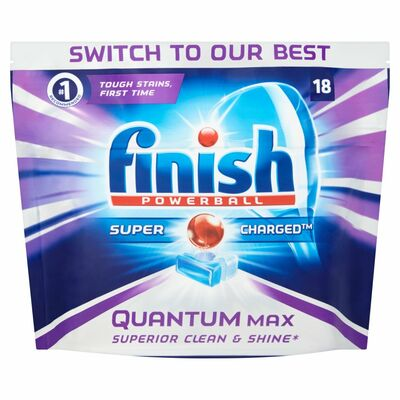 Finish Quantum Max Shine & Protect 18pce