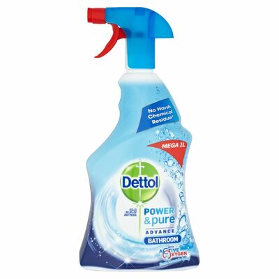 Dettol Power And Pure Bathroom Trigger 1ltr