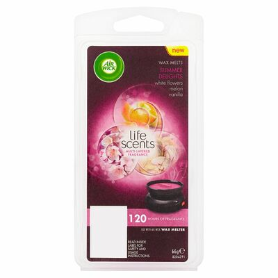 Airwick Life Scentswax Melts Refill Summer Delight 6pce