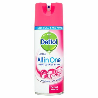 Dettol Disinfectant Spray Orchard Blossom 400ml