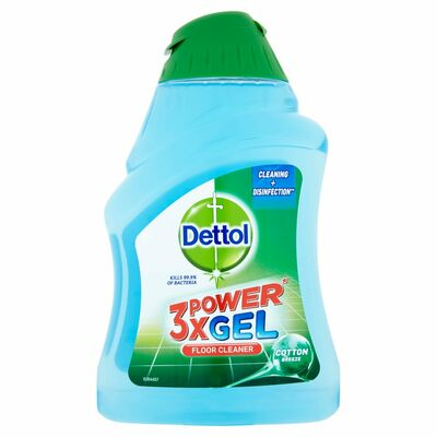 Dettol 3X Power Floor Gel Cotton Breeze 400ml