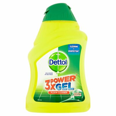 Dettol 3X Power Floor Ge Sparkling Citrus 400ml
