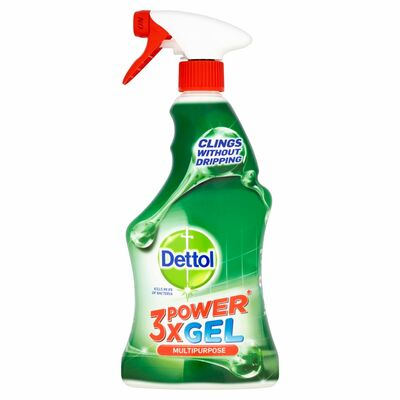 Dettol 3X Power Gel Multi Purpose 500ml