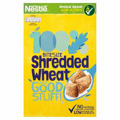 Nestlé Shredded Wheat Bitesize Cereal 500g