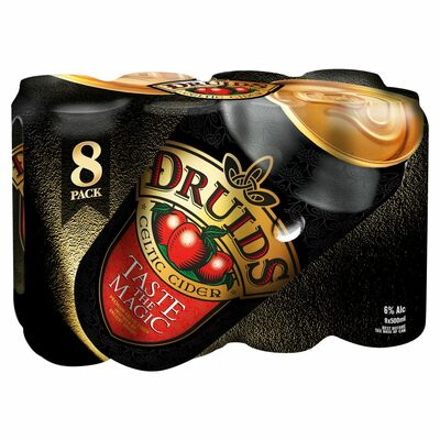 Druids Celtic Cider Cans 8 Pack 500ml