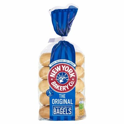 New York Original Longlife Bagels 425g