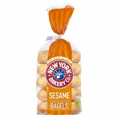 New York Sesame Longlife Bagels 425g