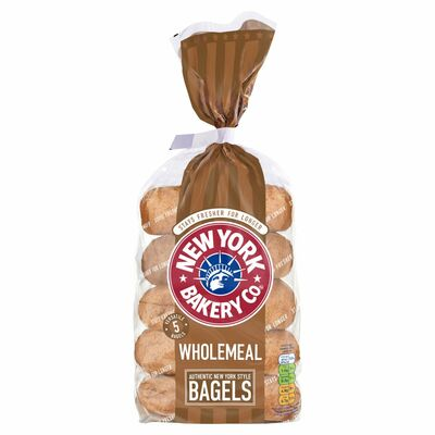 New York Wholemeal Longlife Bagels 425g