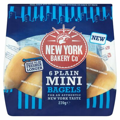 New York Bakery Mini Bagels 270g