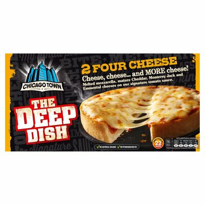 Chicago Town The Deep Dish Twin Pack Four Cheese 310g